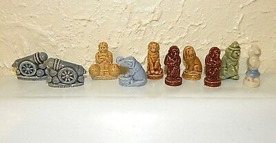 Wade Figurines Circus Lot Of 10 Strongman Cannon Clown Poodle Elephant Tiger Etc for sale  Binghamton