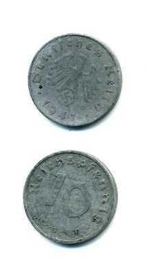 10 Reichspfennig 1941 G Zink Drittes Reich M_671