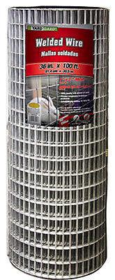 36 X 100 2 X 1 Mesh Galvanized Welded Wire 14 Gauge 222513