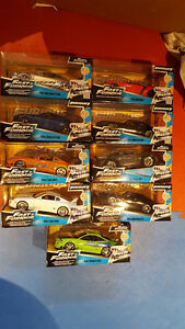 Furious 7 and Fast & Furious Cars - 1:24 Die-cast
