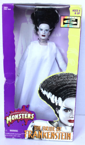 "UNIVERSAL STUDIOS MONSTERS BRIDE OF FRANKENSTEIN 12""  FIGURE MIB"