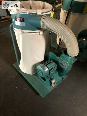 Jet Dc-1200 Dust Collector 2 Hp Single Phase W2