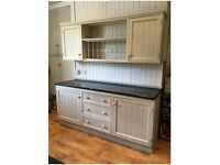 Solid Wood, Free standing kitchen