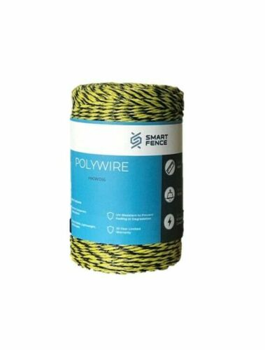 Electric Fence Polywire 200m 656