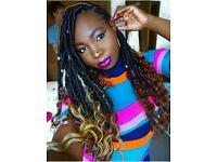 Afro Hairdresser| Afro Hairstylist|GoddessLocs, Box Braids More