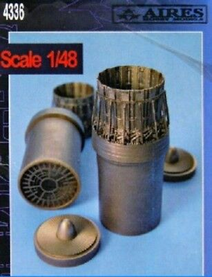 Aires 1/48 F15C Exhaust Nozzles Late For HSG AHM4336