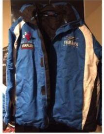 Yamaha jacket heavy duty racing