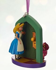 Disney christmas cheshire cat alice sketchbook door for Alice in wonderland door knob disney decoration