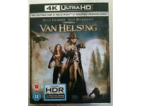 Van Helsing 4K UHD + blu ray + digital download