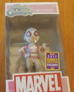 Funko Rock Candy MARVEL Gwenpool Masked 2017 Summer Convention E