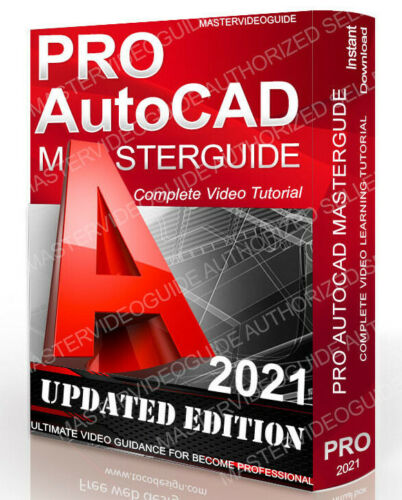 Complete AutoCAD Video Learning Training Tutorial Course 2020 DOWNLOAD