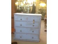 Very large Victorian chest of draws