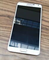 Samsung Note 3 Unlocked White 32 GB w/ free tempered glass