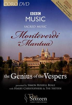 SACRED MUSIC: MONTEVERDI IN MANTUA - THE GENIUS OF THE VESPERS NEW DVD