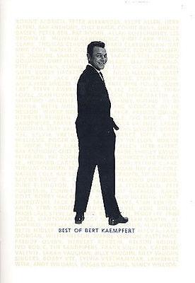 Best of Bert Kaempfert : Songbook_ Gesang und Klavier + 1 Bleistift Musikmotiv