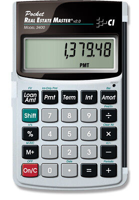 Calculated Industries Pocket Real Estate Master 3400 Financial Calculator