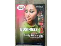 NEW Edexcel BTEC business level 2 study skills guide