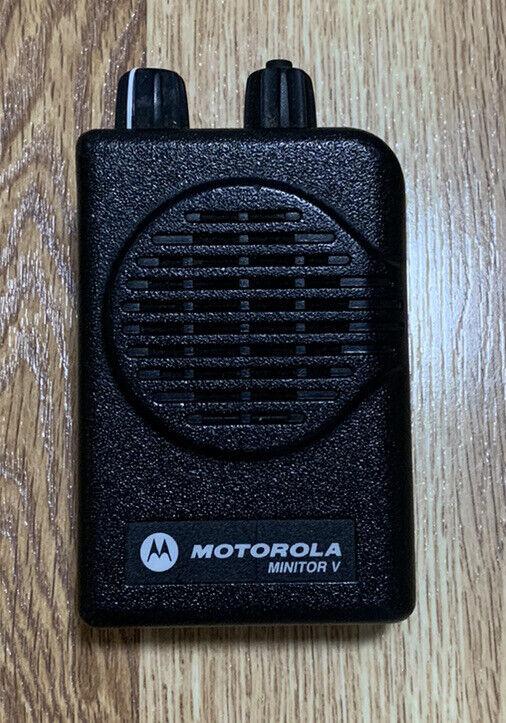 Motorola Minitor V Single Channel 450-457.9875 MHz - RLE1081A #A04KMS9238CC