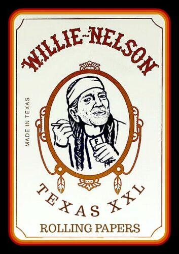 "4.5"" Willie Nelson XXL Zig Zag vinyl sticker. Funny 420 decal for car, laptop."