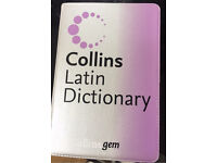 Latin dictionary - Unused and in new condition
