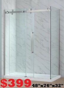 BATHROOM VANITY. SHOWER DOOR. SHOWER PANEL