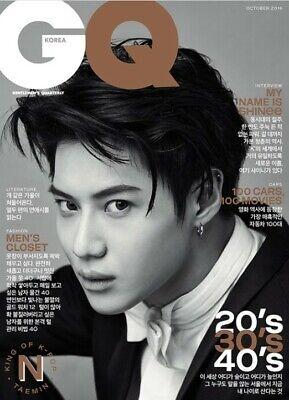 GQ SHINEE TAEMIN COVER KOREA MAGAZINE 2016 OCT OCTOBER NEW