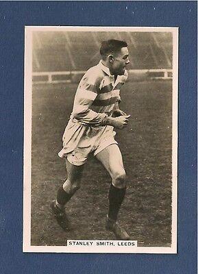LEEDS RHINOS RLFC  STANLEY SMITH 1935 Original photocard  Headingley