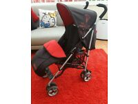 Baby buggy with cosytoes & raincover