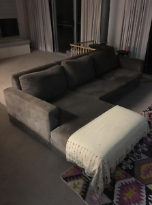 comfortable 3-seater sofa with chaise North Narrabeen Pittwater Area Preview