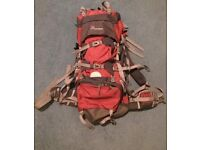 Mountaintop Adventure 70L backpack.