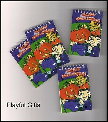 12 Halloween Notebooks  Party Favor Party School](Halloween Favor)