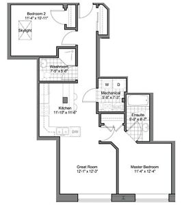 Centre Suites on 3rd, 945 3rd Ave E #402, $274,900