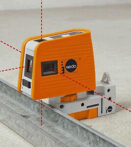 NEDO 5 - Punkt- Laser X-Liner 5P  2 Laserlinien, 460871, 5 Laserpunkte + Zubehör
