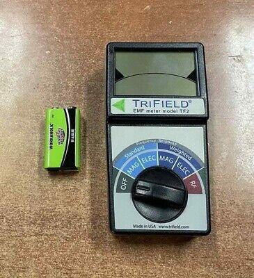 Trifield Emf Meter Radio Frequency Rf Electric Field Emf Meter Model Tf2