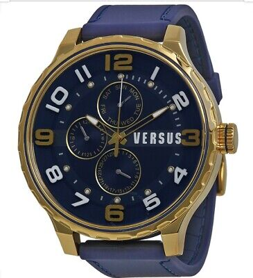 Versus Versace Watch Men Blue