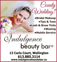Getting married in the county?