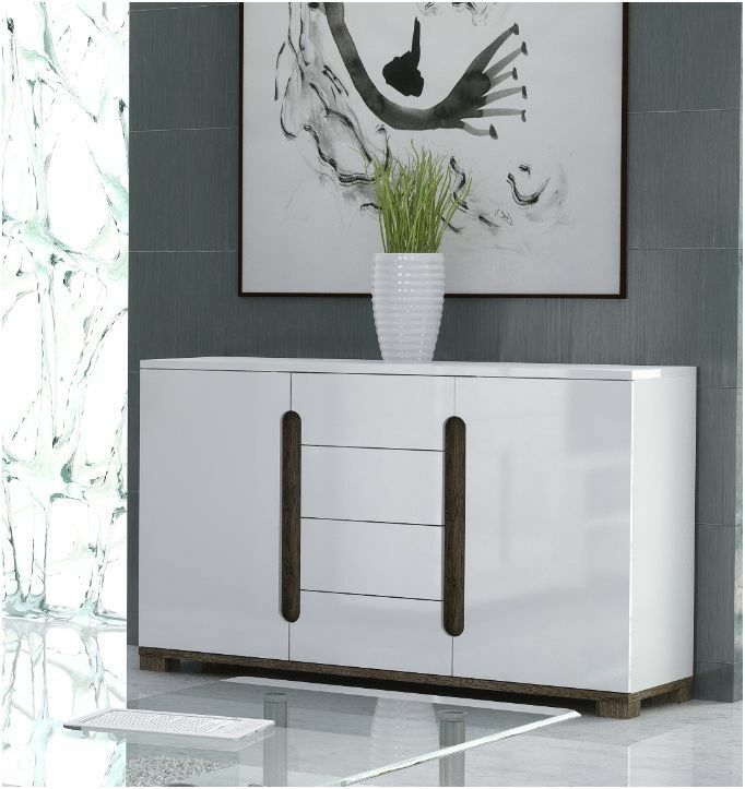Lorenz High Gloss White Sideboard TV Unit Tall Display  -> White Sideboard Tv Cabinet