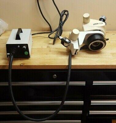 Leica Gz4 Stereo Zoom Microscope Stand W 2 10x W.f.eyepieces