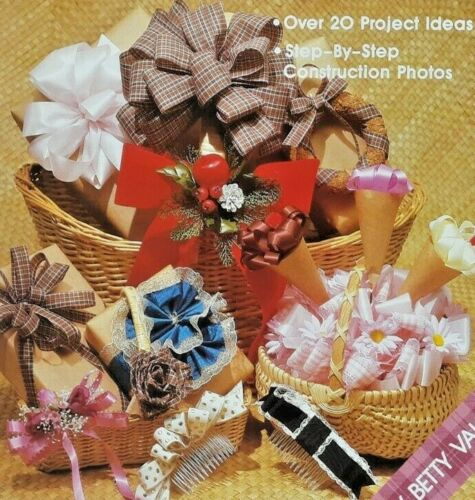 1988 Secrets Of Bow Tying Step-By-Step How-To Instruction Book 20 Projects 6953F