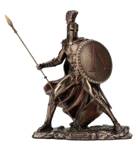 7.5 Inch Spartan King Leonidas Statue Sculpture Warrior Soldier
