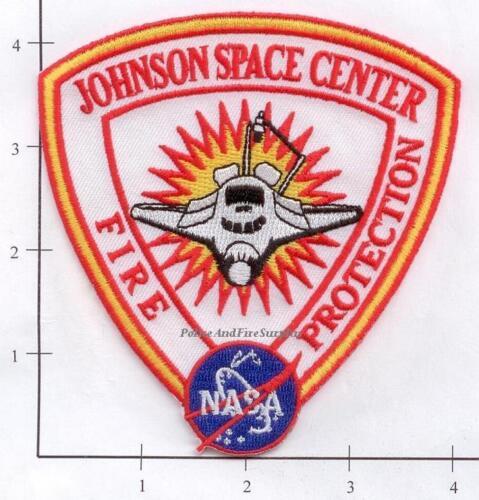 Texas - Johnson Space Center Fire Protection TX Fire Dept Patch - NASA