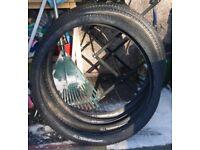 4No. 27.5 x 2.00 all terrain mountain bike tyres