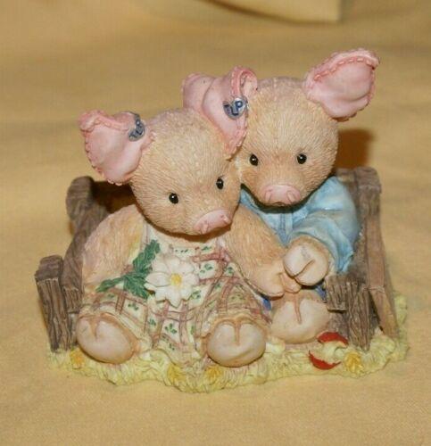 1994 Enesco This Little Piggy Home Sweet Home FIGURINE  Retired 130923