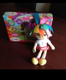 CBeebies NEW Rosie doll & jigsaw.