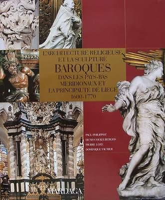 BOOK/LIVRE/GUIDE/BOEK : ARCHITECTURE RELIGIEUSE & SCULPTURE BAROQUES 1600-1770