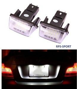 feux arriere ampoule led xenon obd eclairage feux de plaque peugeot 206 1 6 hdi ebay. Black Bedroom Furniture Sets. Home Design Ideas