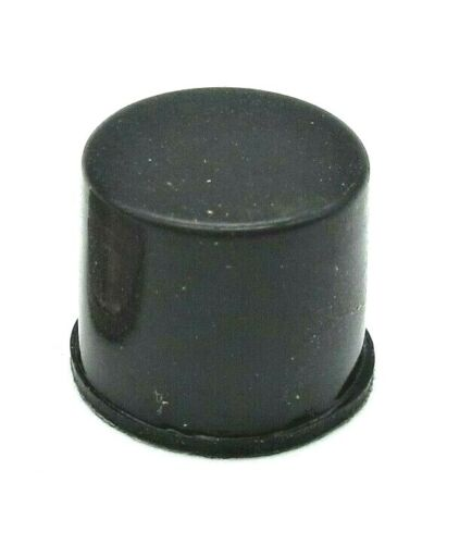 """7/16"""" Tall Rubber Feet Round for Desktop Electronic Equipment  3M Adhesive Back"""