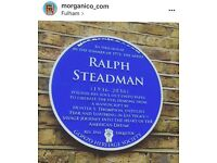 BLUE PLAQUE MAKING / sale