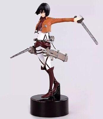 Attack On Titan Mikasa Ackerman Figure 12 Cm With Stand No Box Us Seller