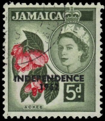 """JAMAICA 189 (SG185) - Independence """"Ackee Fruit"""" (pa89880)"""